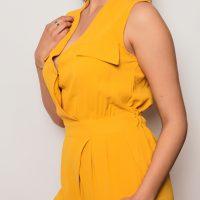 Combi Femme jaune