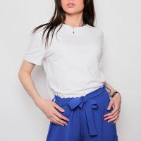 Short bleu roi