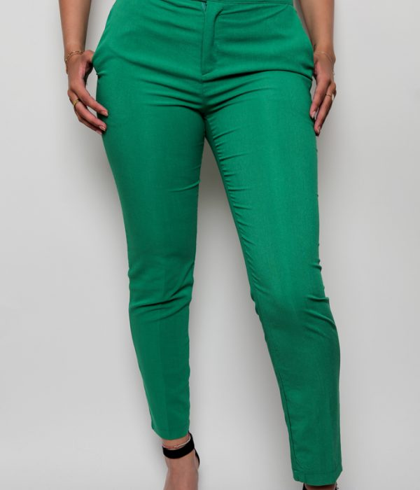 Pantalon vert femme
