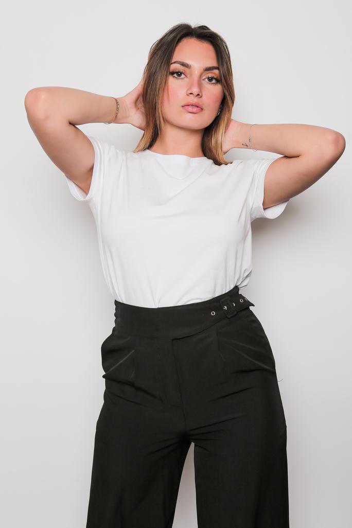 Pantalon noir droit