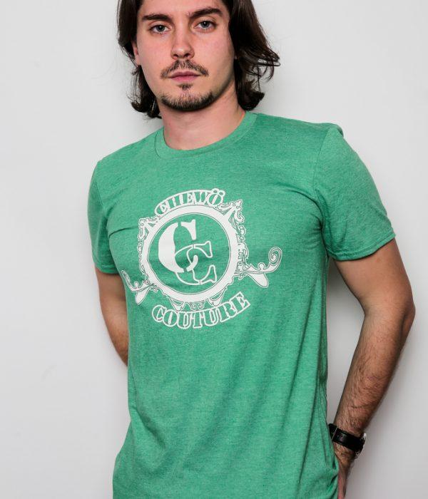Tshirt chewö vert